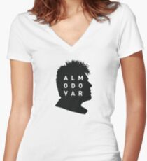 Almodovar Women's Fitted V-Neck T-Shirt