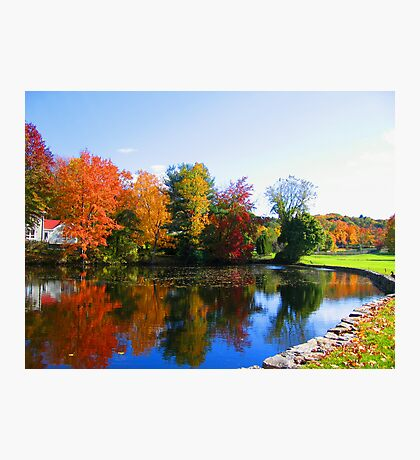 Fall in New York photography Photographic Print