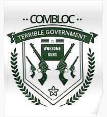 Combloc Gun Ammunition Tough Awesome AK47 Poster
