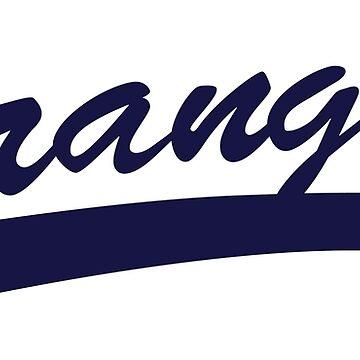 Strangers Baseball Jersey (Scrubs) by jarmandesign