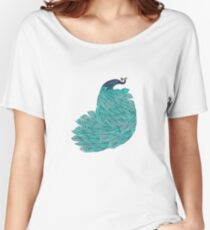 A very, very peacock Women's Relaxed Fit T-Shirt