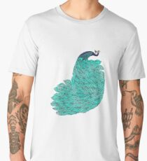 A very, very peacock Men's Premium T-Shirt