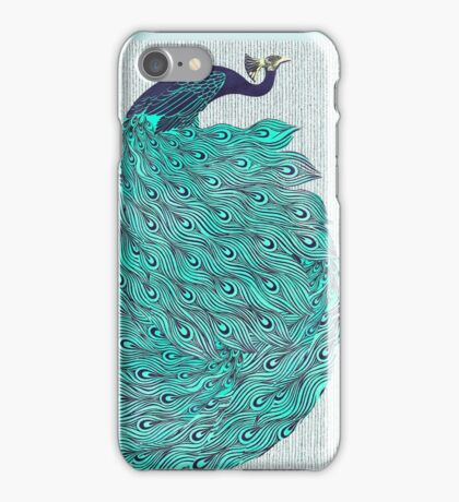 A very, very peacock iPhone Case/Skin