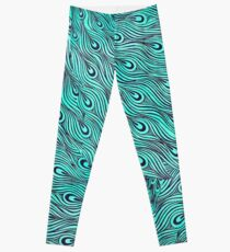 A very, very peacock Leggings