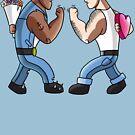 Fist shakers by Benjamin Nunn