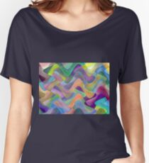 modern abstract background for decoration Women's Relaxed Fit T-Shirt