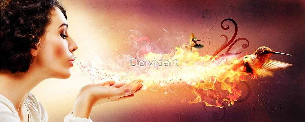 Magic blow by Deividart