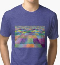 modern abstract background for decoration Tri-blend T-Shirt