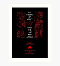 The Sisters Of Mercy - The Worlds End - First and Last and Always Art Print