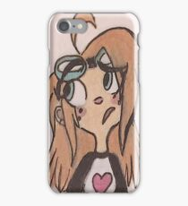 Goggles Girl iPhone Case/Skin