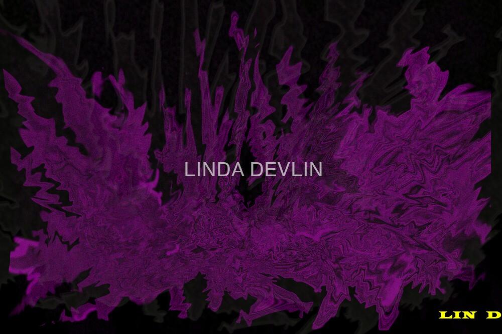 purple fire for toni by LINDA DEVLIN