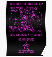The Sisters Of Mercy - The Worlds End - The Reptile House EP Poster