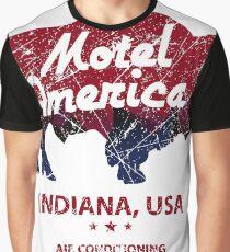 Motel America Distressed - american gods Graphic T-Shirt