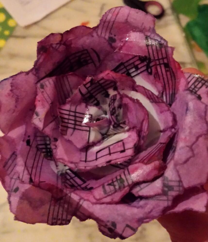 Paper Rose: Manuscript by Aurick
