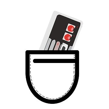 Nes Controller in the Pocket by Warnunk