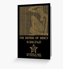 The Sisters Of Mercy - The Worlds End - Alice Greeting Card