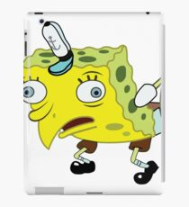 High Quality Spongebob Meme iPad Case/Skin