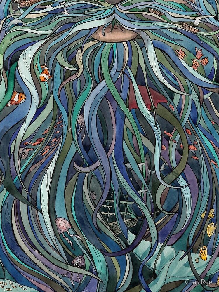 Old man Ocean by juliacoalrye