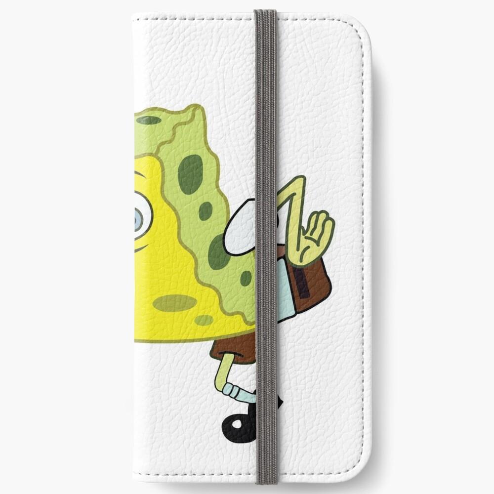 High Quality Spongebob Meme iPhone Wallet