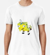 Qualität Spongebob Meme Männer Premium T-Shirts