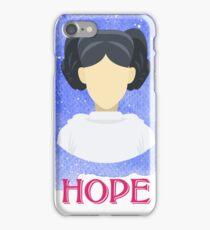 HOPE - Princess Leia iPhone Case/Skin
