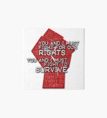 Muse - Knights of Cydonia fight Art Board
