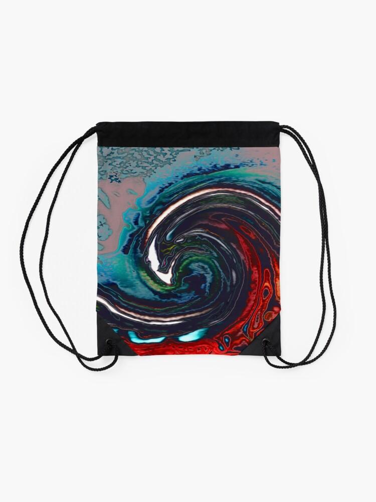 Alternate view of Wave 9 Drawstring Bag