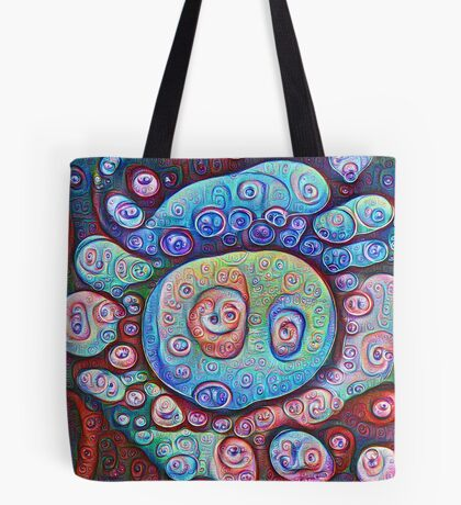 #DeepDream Ice 5x5K v1450338773 Tote Bag