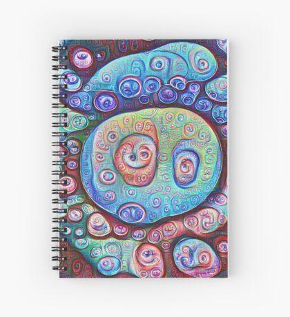 #DeepDream Ice Spiral Notebook
