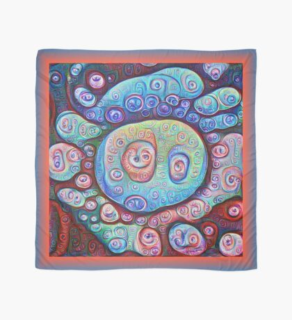#DeepDream Ice Scarf