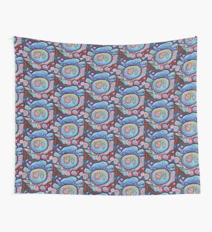 #DeepDream Ice 5x5K v1450338773 Wall Tapestry