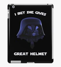 Spaceballs - I Bet She Gives Great Helmet iPad Case/Skin