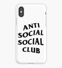 ANTI SOCIAL iPhone Case/Skin