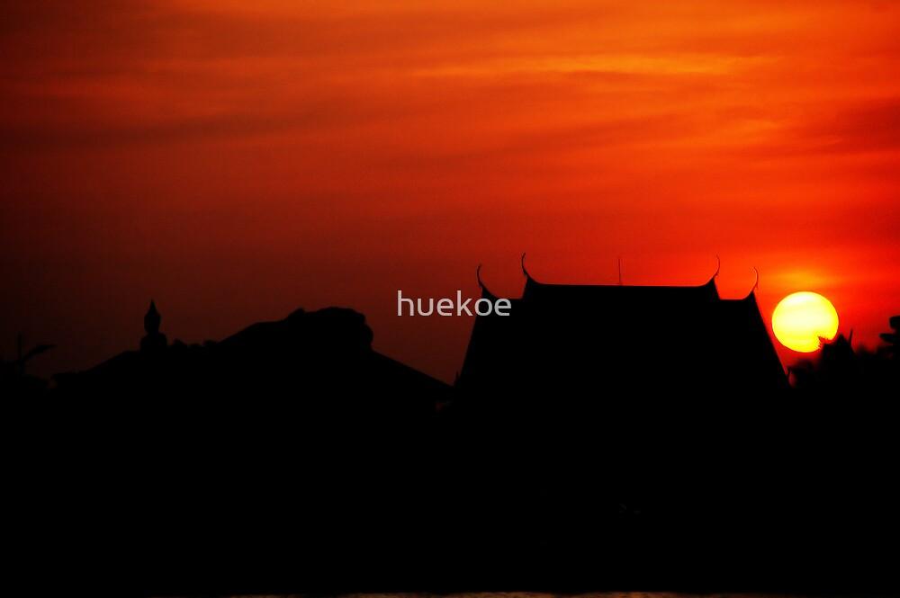 beside the evening by huekoe