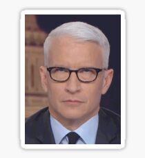 Anderson Cooper Eye Roll Sticker
