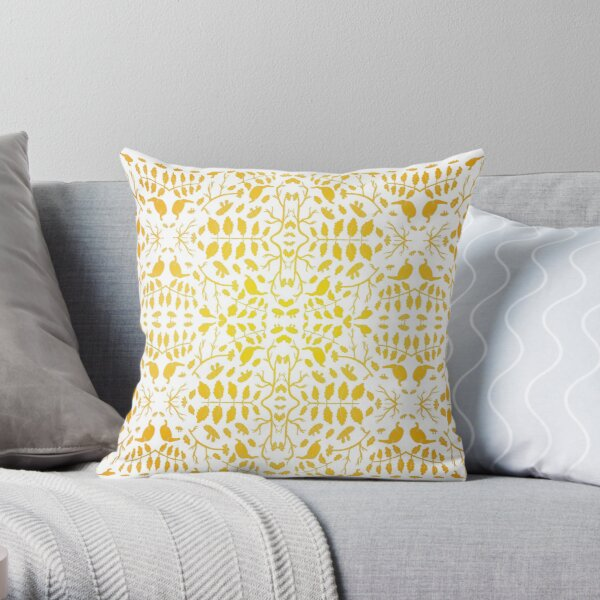 The Stomach Throw Pillow
