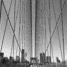 Brooklyn Bridge Runner by George Wheelhouse