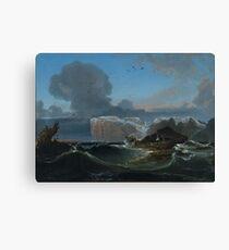Peder Balke ,  Norway Coastal Landscape Canvas Print
