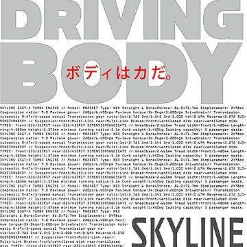 Nissan Skyline - Driving Body by merlz
