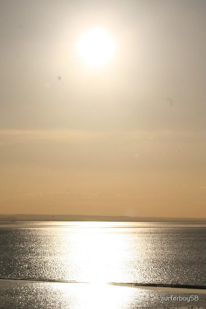 Golden Sunset by surferboy58