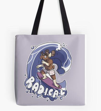 Radical Moose Tote Bag