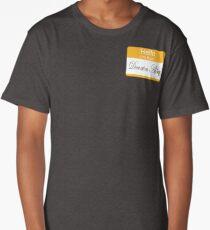 Hello badge (DA) Long T-Shirt