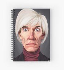 Celebrity Sunday - Andy Warhol Spiral Notebook