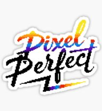 Pixel Perfect Sticker
