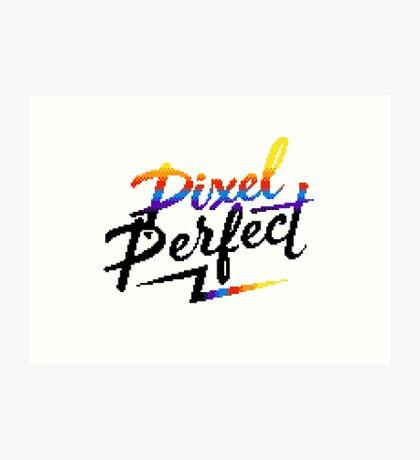 Pixel Perfect Art Print