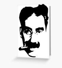 Groucho Marx Greeting Card