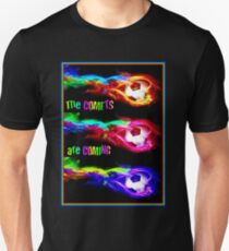 SOCCER: Vintage The Comets are Coming Print T-Shirt