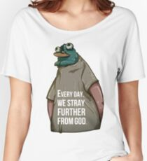 Every Day. We Stray Further from God Women's Relaxed Fit T-Shirt