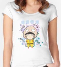 Mob Psycho and One Punch Man Women's Fitted Scoop T-Shirt