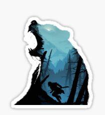 The Revenant Bear Sticker